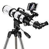 Angelay-Tian Teleskop für Astronomie für Erwachsene Anfänger BeginnProfessionell, tragbar und...