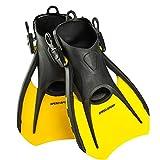 Phantom Aquatics Snorkeling Diving Fins - Open Heel Traveling Sport Fins - YL-MD