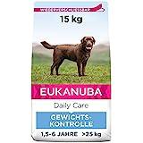 Eukanuba Daily Care Weight Control für große Rassen - Fettarmes Hundefutter zum Gewichtserhalt...