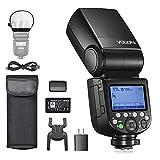 Godox V860IIIS Blitzgerät für Sony-Kameras, 76Ws 2.4G HSS Kamerablitz, 7.2V/2600mAh Li-Ion Akku,...