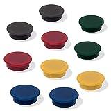 Wilk Schmückendes Beiwerk schwarz/rot/gelb/grün/blau, Mu197 Magneten für...
