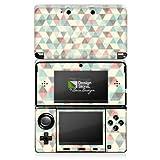 Skin kompatibel mit Nintendo 3 DS Aufkleber Sticker Folie Dreiecke Vintage Pattern Muster