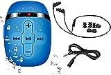 HiFi Sound Wasserdichter MP3 Player zum Schwimmen und Laufen, Unterwasser-Kopfhrer mit kurzem Kabel...