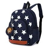 Kreative einfache Pentagramm Stern Muster drucken Cartoon Kinder Rucksack Taschen Nylon-Druck...
