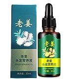 Ginger Germinal Serum Nutrient Essence Oil Natürliche Haarausfallbehandlung Effektive Haarpflege...
