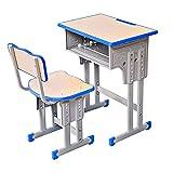 Zacheril Kindertisch Stuhl Set Kinder-Studie Tabelle Kinderhöhenverstellbarer Schreibtisch und...