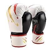 POHOVE Boxhandschuhe Sport Muay Thai Erwachsene Kinder Atmungsaktive Trainingsgeräte PU Leder...