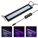 Hygger 9W Aquarium LED Beleuchtung, Aquarium LED Lampe mit Timer, dimmbare, LED Aquarium Licht mit...