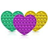 3 x Push-Pop-Blasen, sensorisches Spielzeug für Autismus, Stressabbau, Silikon, Stressabbau,...
