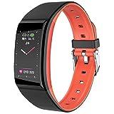 AI CHEN Fitness Tracker, Fitness Tracker Schrittzähleruhr mit schlankem Touchscreen und...
