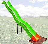 Loggyland Anbaurutsche Wellenrutsche 3,32m fr Podesthhe: Podesthhen: 140 - 160 cm BZW 1,4 - 1,6 m