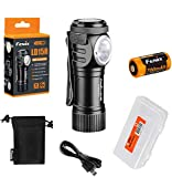 FENIX Unisex Adult LD15R Taschenlampe mit Cree XP-G3 White LED, Silver, small