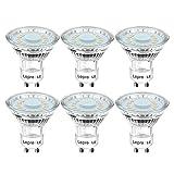 Lepro GU10 LED Lampe, 4W 350 Lumen LED Leuchtmittel, 2700 Kelvin Warmweiß Energiesparlampe ersetzt...