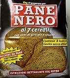 prodigital Mehl 1 kg Schwarz Brot, 7 Keriale + Hefe