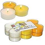 Smart Planet® Kerzen Ambiente - 12 Stück Jumbo XXL Duftteelichter Teelichte Set Frangipani Duft -...