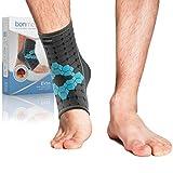 bonmedico Ekto Fußgelenk-Bandage, Sport Sprunggelenkbandage, stützt und stabilisiert bei...