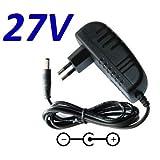 Netzladegerät 27 V Ersatz für E-tek Electronics Manufactory Switching Adapter ZD12D265050EU 26,5 V...