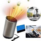 OFZVEO Auto Heizlüfter, 12V 150W Auto Heizung und Kühlventilator, Car Heater, Auto Defroster...
