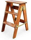 Dirty hamper Tritthocker Klapphocker Massivholz 3 Stufen Leiter Hocker Küchenhocker Hochhocker...