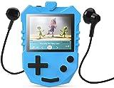 AGPTEK MP3 Player Kinder, 8GB Autodesign Video Player 1,8' TFT LCD Bildschirm mit Lautsprecher&...