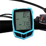 ZQQ Fahrrad-Computer, Wireless Fahrradtachometer Und Kilometerzähler Wasserdichter...