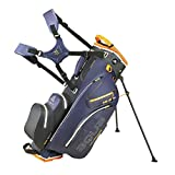 Big Max Golf Ständerbag 14 Fächer/Einteilung Tragebag Aqua Hybrid 2 Steel-Blue-Black-Orange