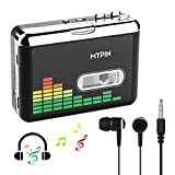 Tragbare Kassettenspieler, Digital USB Audio Musik/Kassette zu MP3 Konverter, Kassettenrekorder...