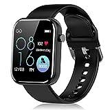 Smartwatch Herren Damen, Fitness Tracker für Android iOS Touchscreen Fitness Uhr mit Pulsuhr...