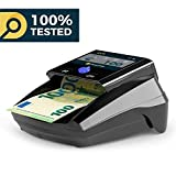Detectalia D7 TFT Geldscheinprüfer mit 7 Fälschungskontrollen und 100% Zuverlässigkeit, kein...
