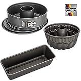 Kaiser-La Forme Backformen Set mit Brot-und Kuchenform, Antihaftbeschichtet, Ofenfest bis 230°C,...