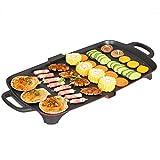YAOZEDI-ElectricGrills Große elektrische BBQ-Antihaft-Teppanyaki-Tischplatte-Grillkochplatte mit...