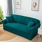 Super Stretch Couch Bezug,1-teilige Universal-Sofabezüge Wohnzimmer Spandex Möbelschutz Hunde...
