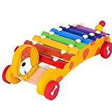 Baby Aus Holz Xylophon Baby Musikinstrumente Multi-Color-Musical Spielzeug-Baby-frühe Pädagogische...