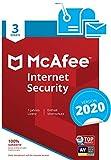 McAfee Internet Security 2020 | 3 Gerte | 1 Jahr | PC/Mac/Smartphone/Tablet | Aktivierungscode per...