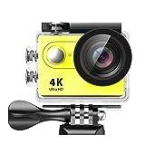 YBYJD Helm Sport-Kamera-H9 / H9R Tätigkeits-Kamera-HD 4K / 30fps WiFi 2.0' 170D Wasser wasserdichte...