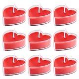 BESPORTBLE 9 Stücke Duftkerze Herz Kerzen Teelicht Sojawachs Aroma Kerzen Sojakerzen Romantische...