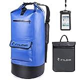 AimdonR Dry Bag Packsack wasserdicht mit Tragegurt, Handytasche Computer Tasche Set für Kajakfahren...