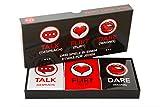 Lustiges und Romantisches Spiel für Paare: Karten-Set mit Konversationsstartern, Flirtspielen und...