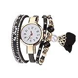 Armband Uhren Damen Armbanduhr Mädchen Weinlese Glänzende Kristallarmband Vorwahlknopf Analoge...