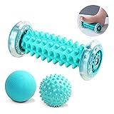 otutun 3 Stück Massagebäll,Fußmassageroller,Faszien-Ball Schmerzlinderung für Hacken &...