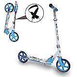 Kinderroller klappbar Hhenverstellbar Big wheels Mdchen und Junge Freizeit City Roller klappbar