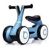 GOPLUS Baby Rutscher, Kinderfahrzeug Kinderauto, Rutschrad Rutschauto mit 4 Rädern und Lenkbarem...