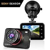 Dashcam Autokamera Full HD 1080P Dash Camera Auto SuperEye DVR Recorder mit 170° Weitwinkelobjektiv...