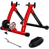 CCCYT Rollentrainer Fahrrad, klappbarer Radtrainer für 26-28 Zoll Reifen, Indoor, Magnetbremse,...