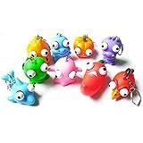 Dorime Fun Anti-Stress-Extruding Big Raised Augen Keychain Squeezing Spielzeug Lustiger...