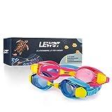Lewot®️ Taucherbrille Kinder [3-12 Jahre] - Erhöhte Silikon Qualität - Schwimmbrille Kinder...