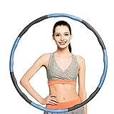 KOVEBBLE Fitnesskreis Reifen Hoop, Gewichteter Hoop Einstellbare Größe für Reifen Erwachsene...