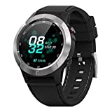 HX0945 Smart Watch EKG Bluetooth Herzfrequenz Lesen Benachrichtigungen Full Touch Screen-IP68...