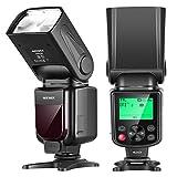 Neewer NW645-N TTL Slave GN58 Kamera Blitz Speedlite, HSS 1/8000s mit LCD-Display Kompatibel mit...