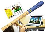 VoggenreiterBlockflöte aus Holz & Kunststoff für Kinder ab 6 Jahre und Anfänger inkl.Flute...
